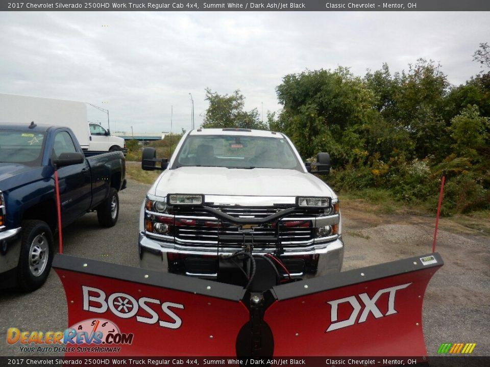 2017 Chevrolet Silverado 2500HD Work Truck Regular Cab 4x4 Summit White / Dark Ash/Jet Black Photo #2