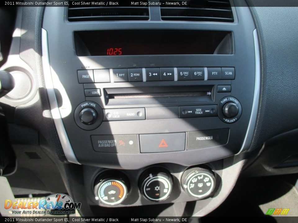 2011 Mitsubishi Outlander Sport ES Cool Silver Metallic / Black Photo #25