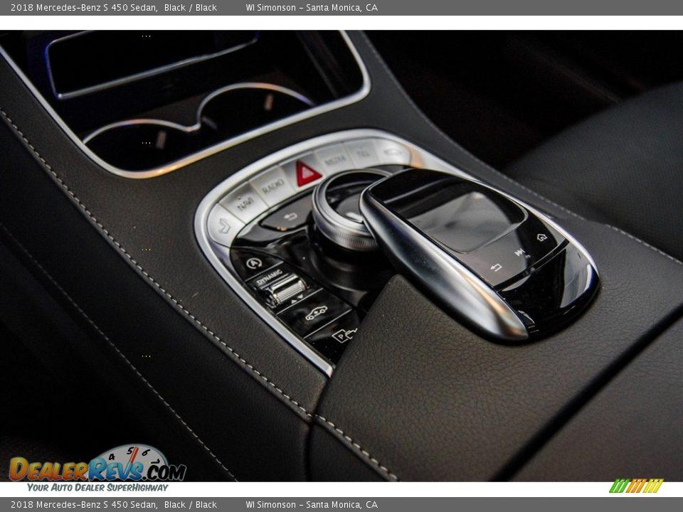 2018 Mercedes-Benz S 450 Sedan Black / Black Photo #7