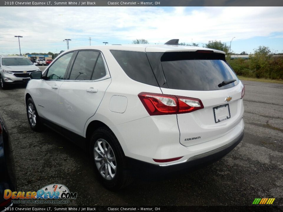 2018 Chevrolet Equinox LT Summit White / Jet Black Photo #5
