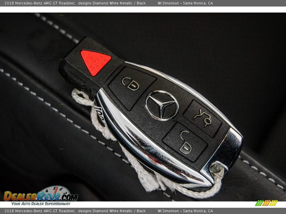 Keys of 2018 Mercedes-Benz AMG GT Roadster Photo #3