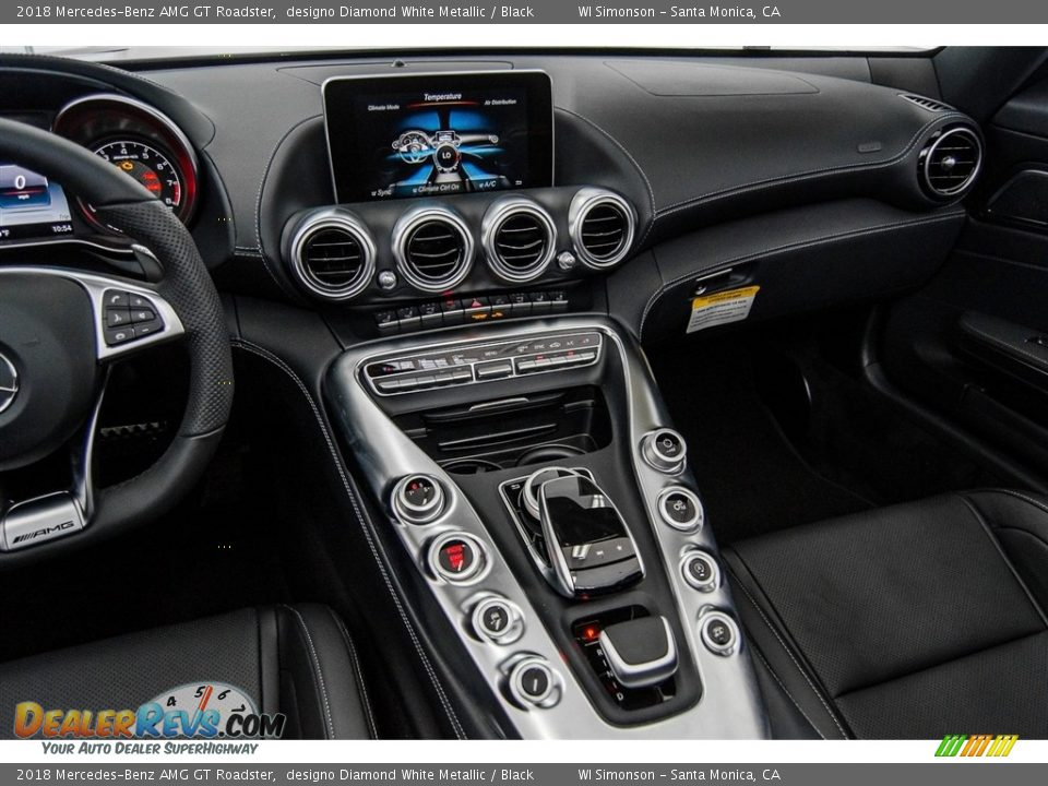 Dashboard of 2018 Mercedes-Benz AMG GT Roadster Photo #10