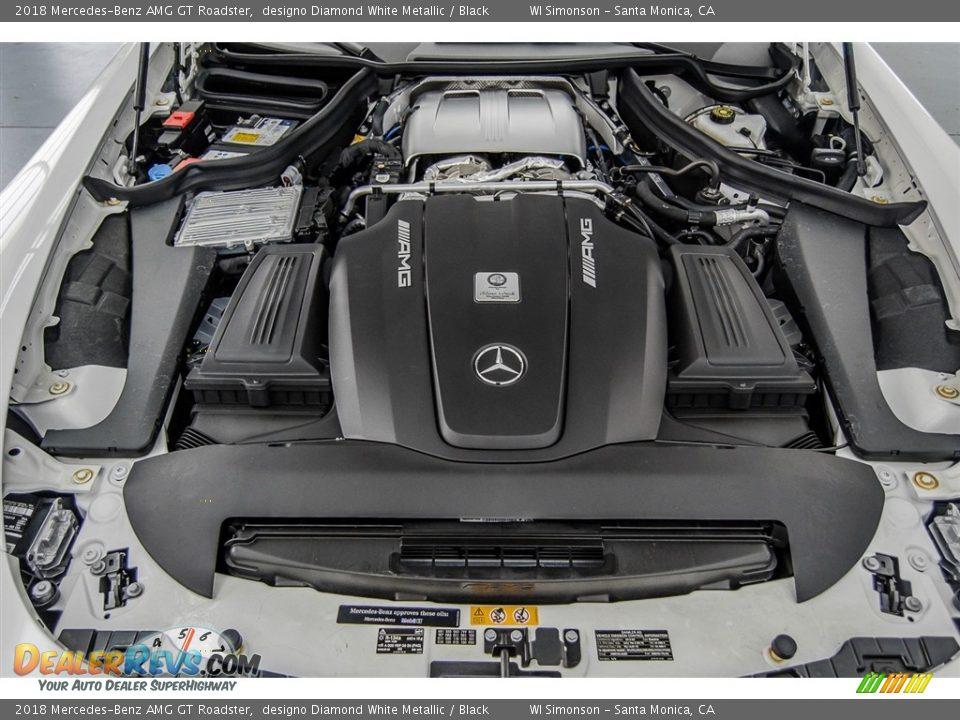 2018 Mercedes-Benz AMG GT Roadster 4.0 Liter AMG Twin-Turbocharged DOHC 32-Valve VVT V8 Engine Photo #15