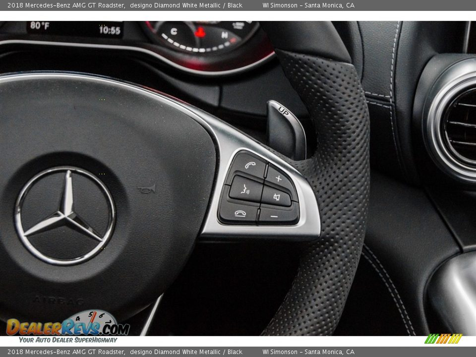 Controls of 2018 Mercedes-Benz AMG GT Roadster Photo #28