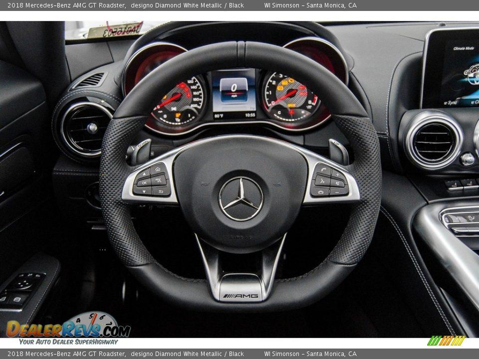 2018 Mercedes-Benz AMG GT Roadster Steering Wheel Photo #30