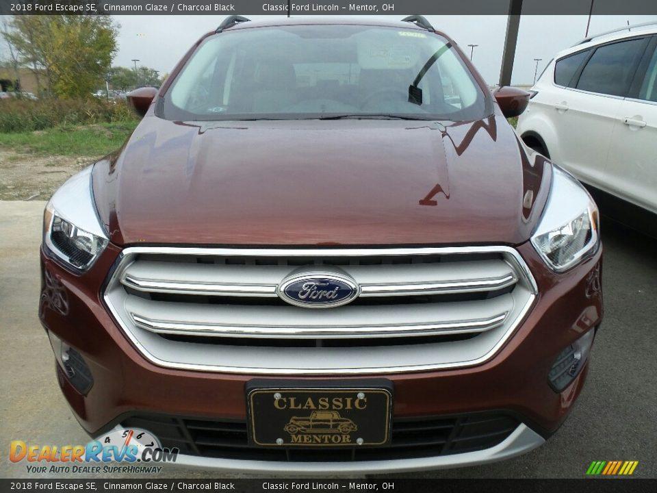 2018 Ford Escape SE Cinnamon Glaze / Charcoal Black Photo #2