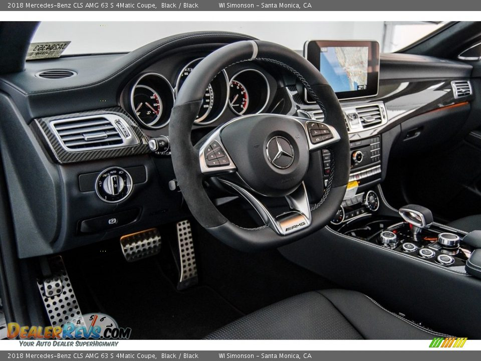 2018 Mercedes-Benz CLS AMG 63 S 4Matic Coupe Steering Wheel Photo #6