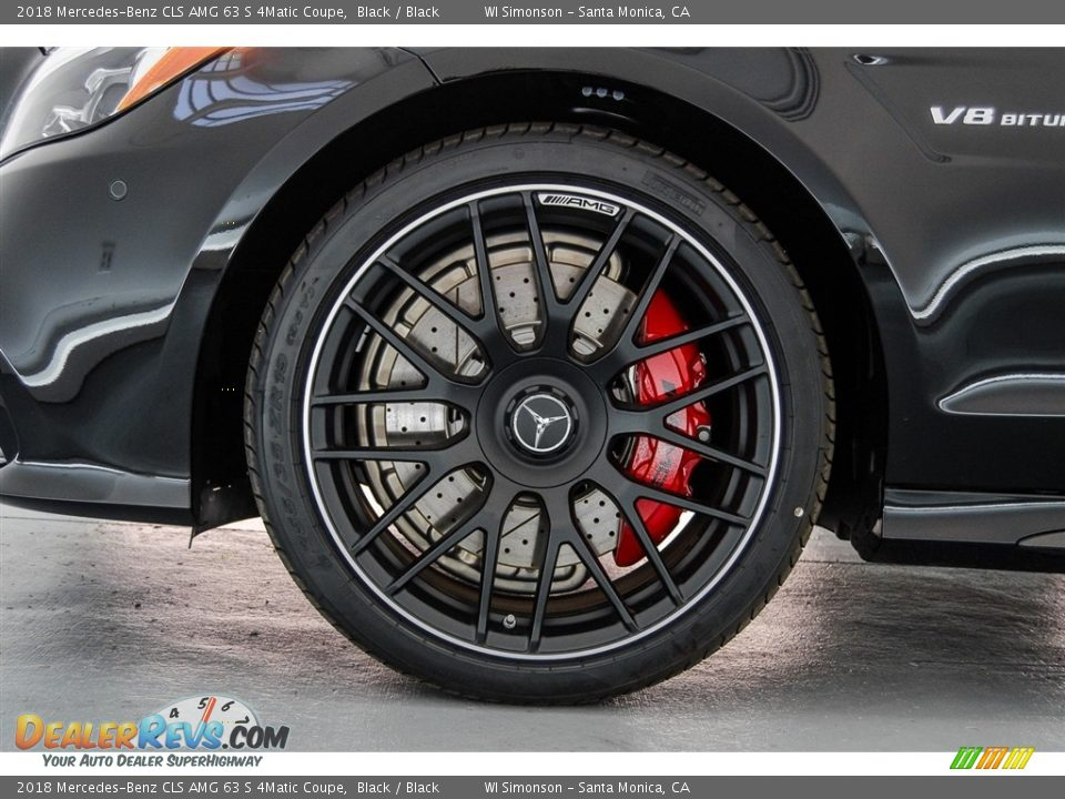 2018 Mercedes-Benz CLS AMG 63 S 4Matic Coupe Wheel Photo #9