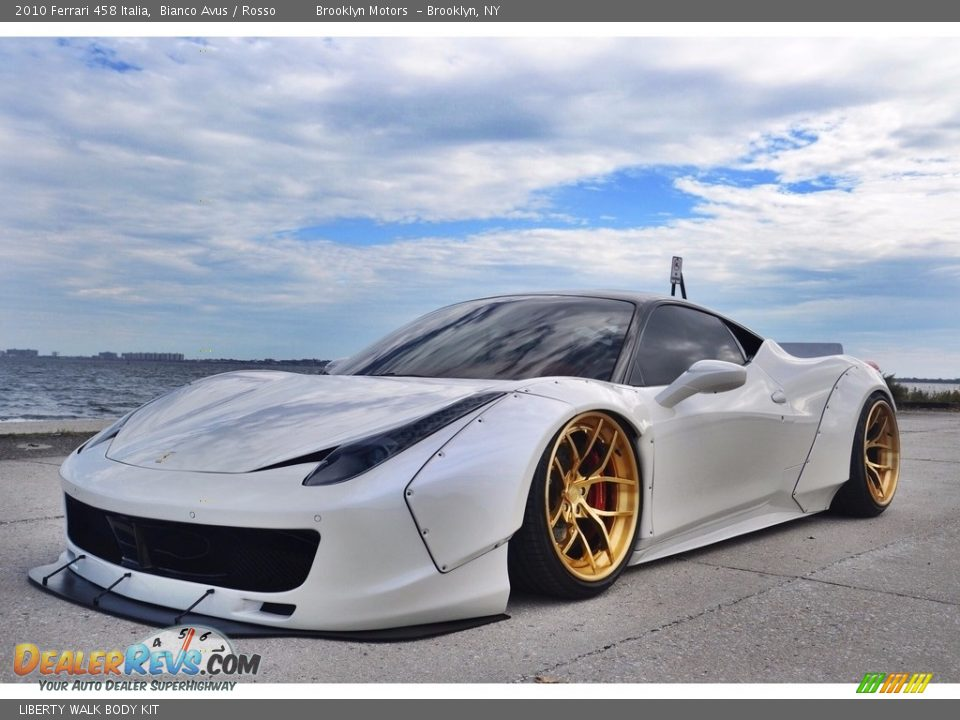 LIBERTY WALK BODY KIT - 2010 Ferrari 458