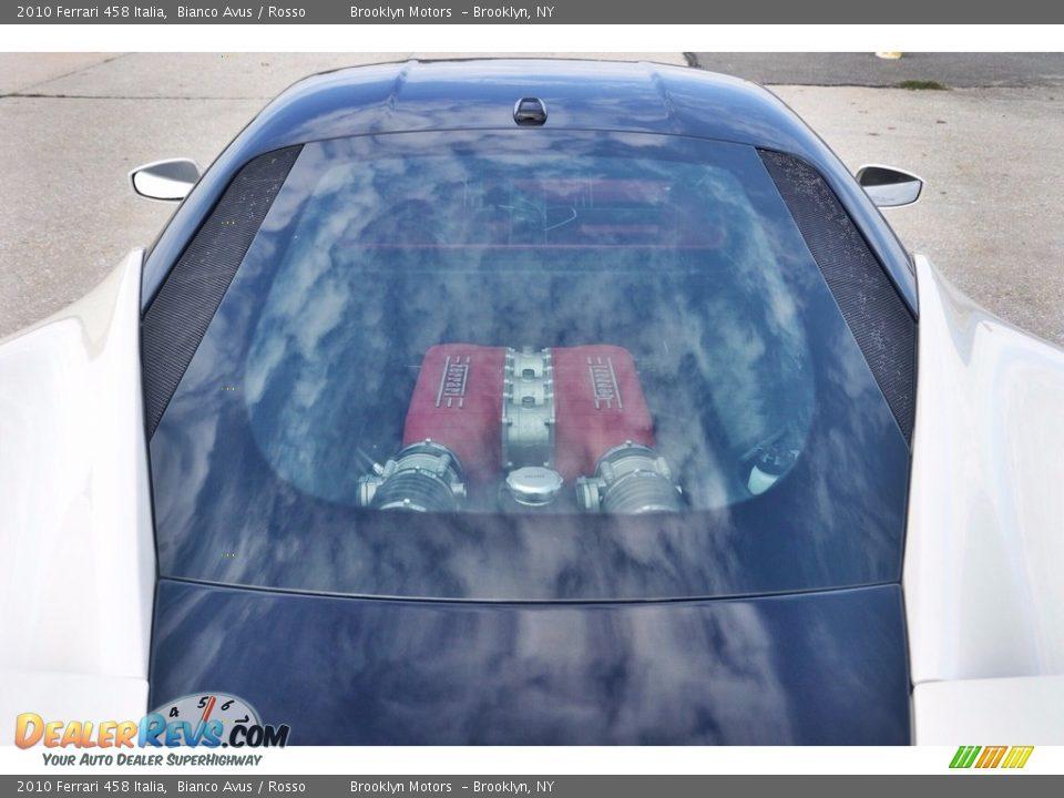 2010 Ferrari 458 Italia Bianco Avus / Rosso Photo #35