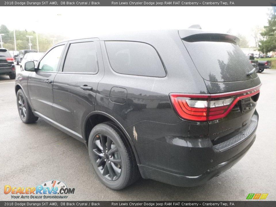 2018 Dodge Durango SXT AWD DB Black Crystal / Black Photo #3