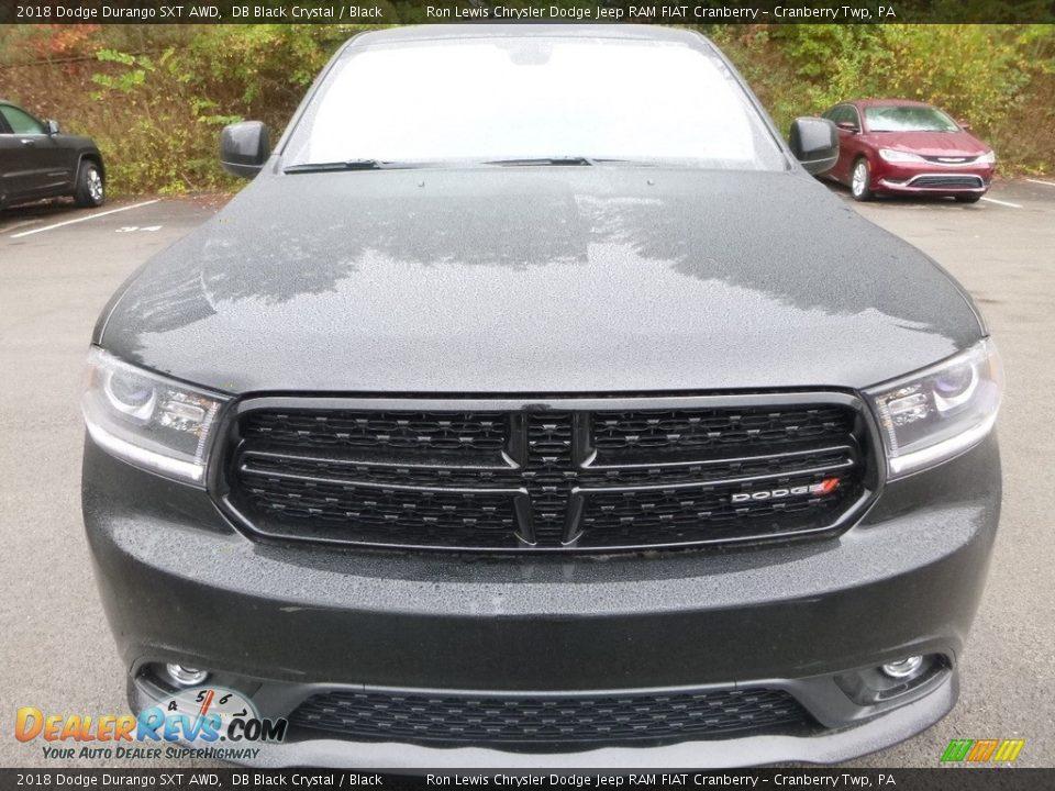 2018 Dodge Durango SXT AWD DB Black Crystal / Black Photo #8