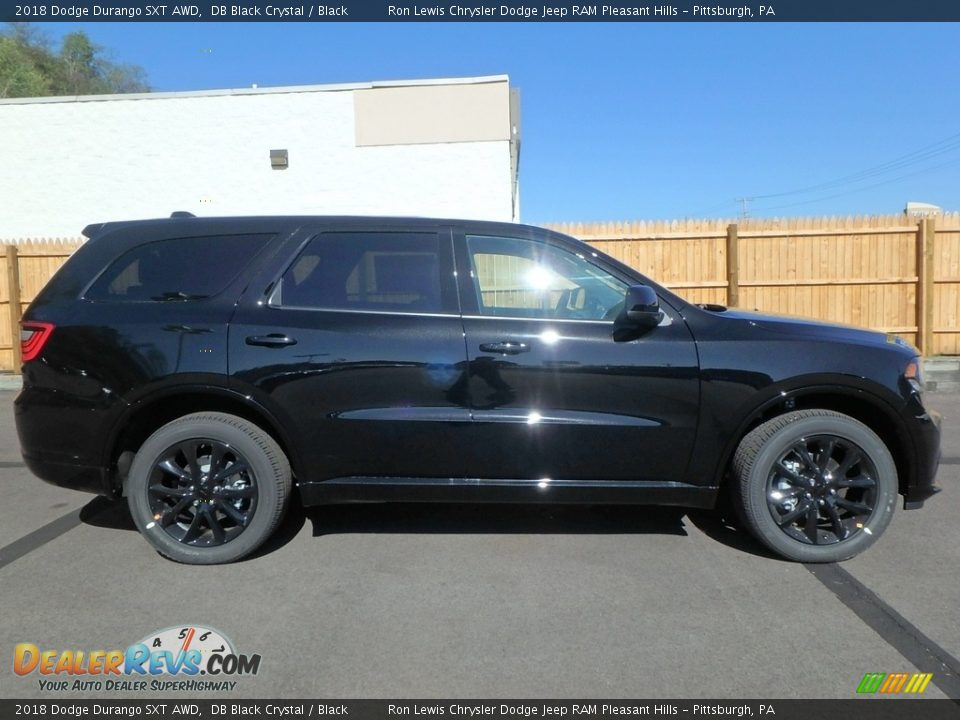 2018 Dodge Durango SXT AWD DB Black Crystal / Black Photo #6