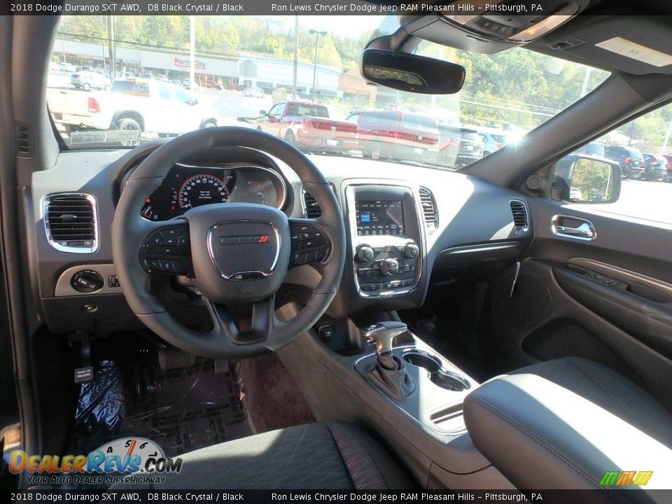 2018 Dodge Durango SXT AWD DB Black Crystal / Black Photo #13