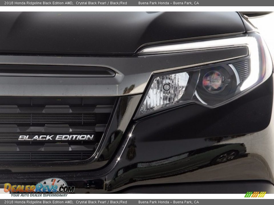 2018 Honda Ridgeline Black Edition AWD Logo Photo #6