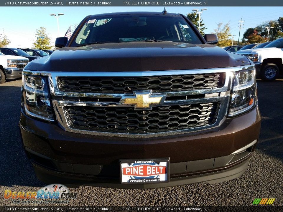 2018 Chevrolet Suburban LS 4WD Havana Metallic / Jet Black Photo #2