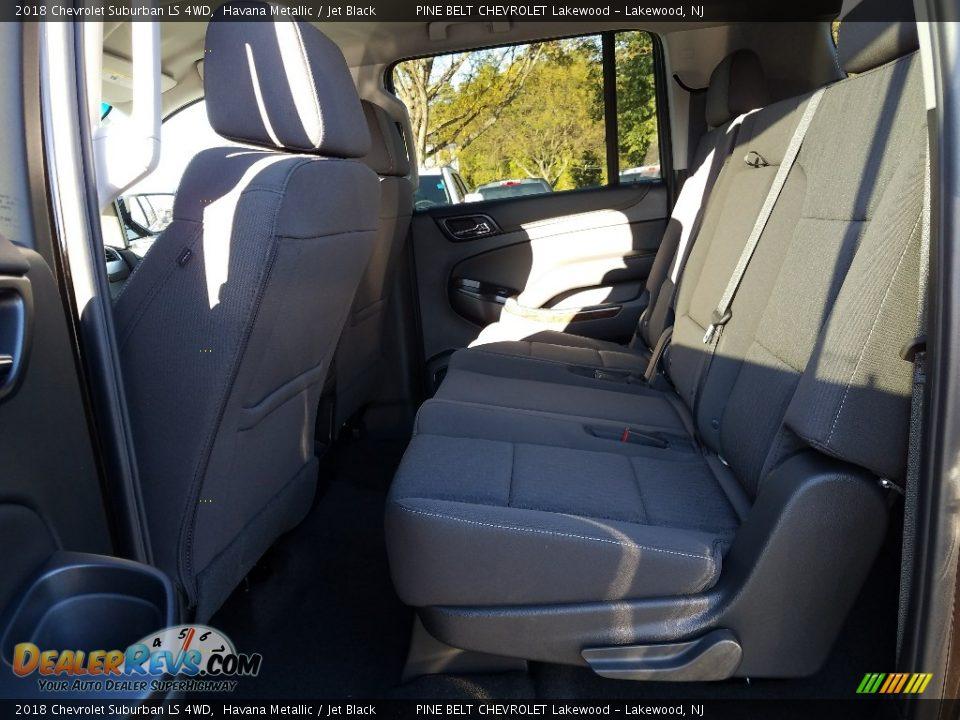 2018 Chevrolet Suburban LS 4WD Havana Metallic / Jet Black Photo #6
