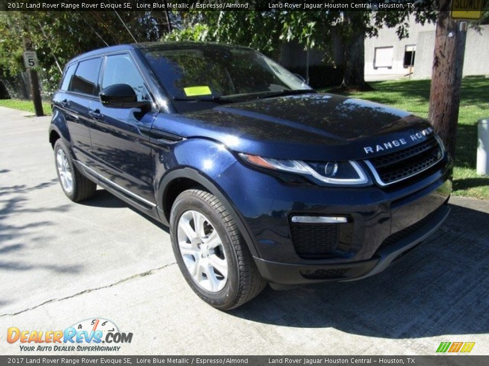 2017 Land Rover Range Rover Evoque SE Loire Blue Metallic / Espresso/Almond Photo #2