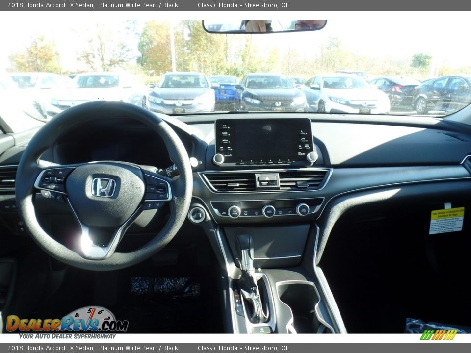 2018 Honda Accord LX Sedan Platinum White Pearl / Black Photo #3