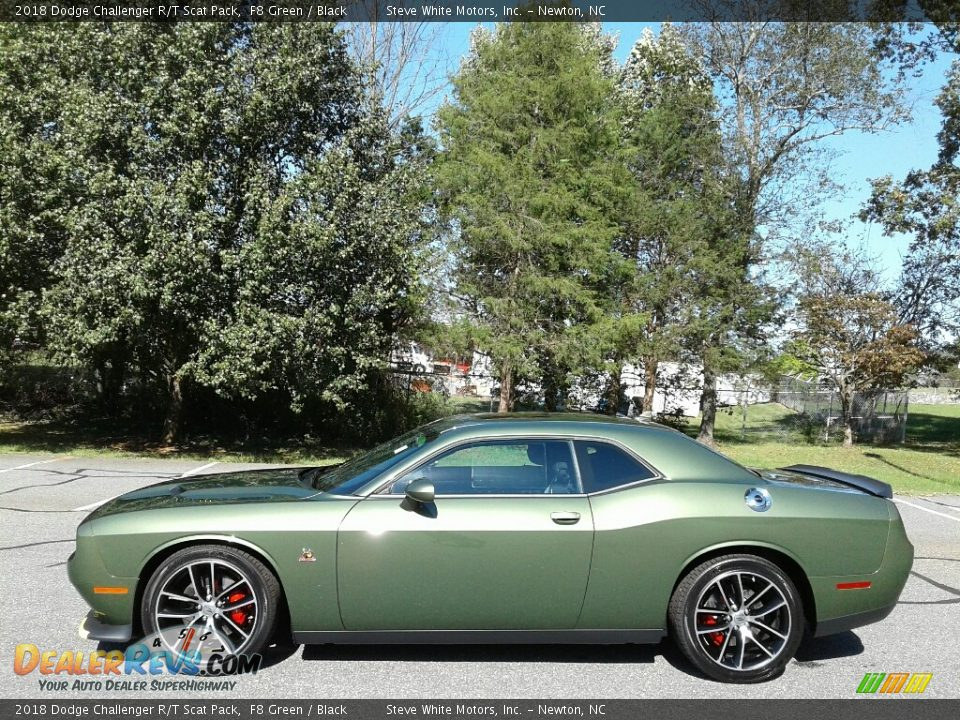 F8 Green 2018 Dodge Challenger R/T Scat Pack Photo #1