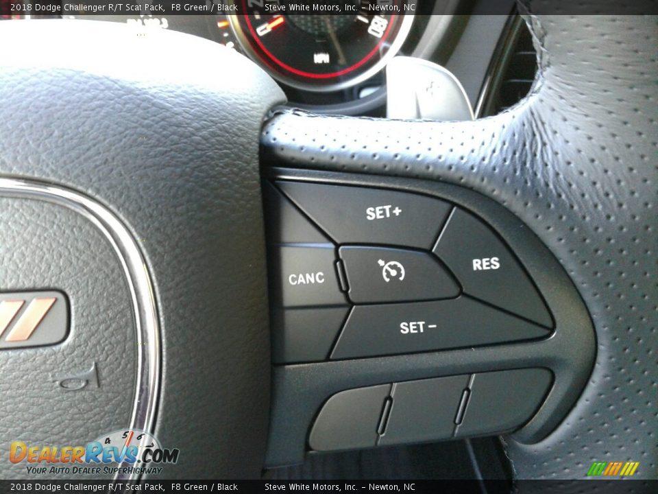 2018 Dodge Challenger R/T Scat Pack F8 Green / Black Photo #17