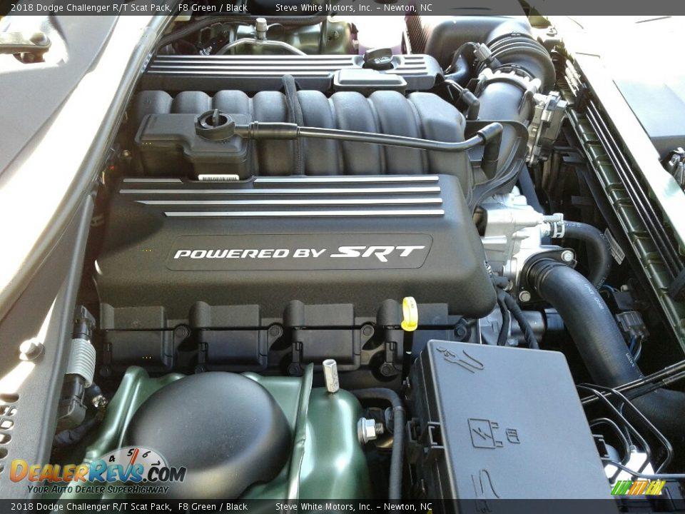 2018 Dodge Challenger R/T Scat Pack 392 SRT 6.4 Liter HEMI OHV 16-Valve VVT MDS V8 Engine Photo #29