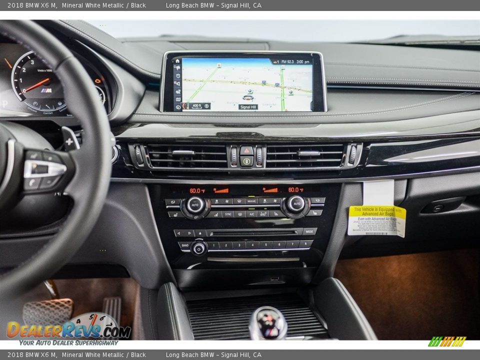 Dashboard of 2018 BMW X6 M  Photo #5
