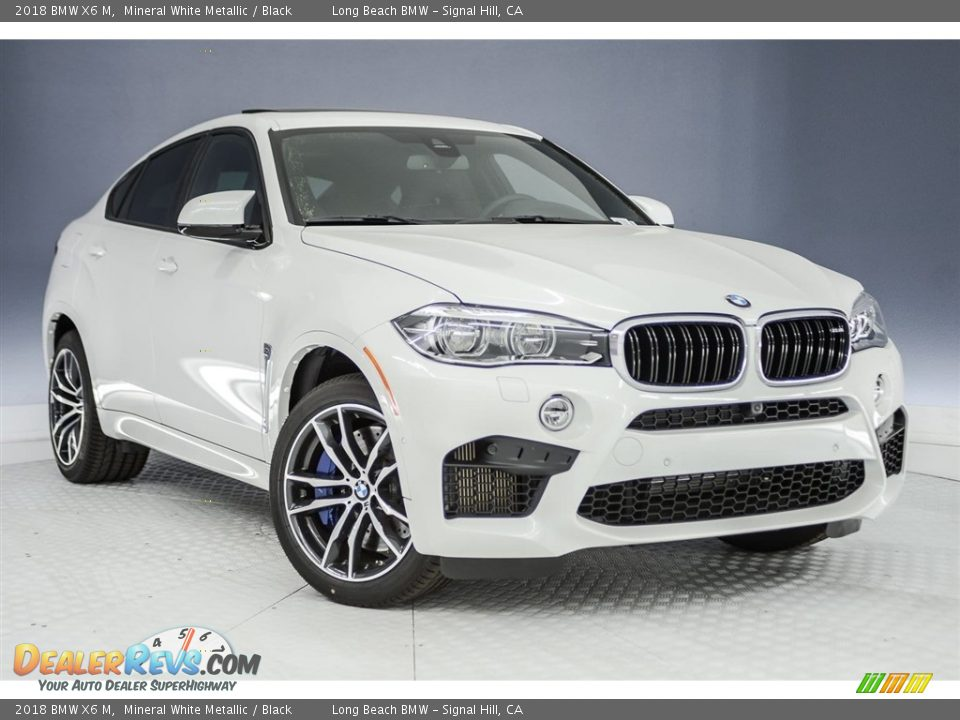 Front 3/4 View of 2018 BMW X6 M  Photo #11