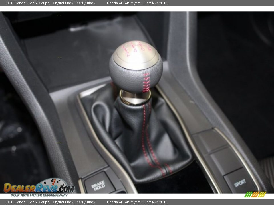 2018 Honda Civic Si Coupe Shifter Photo #19