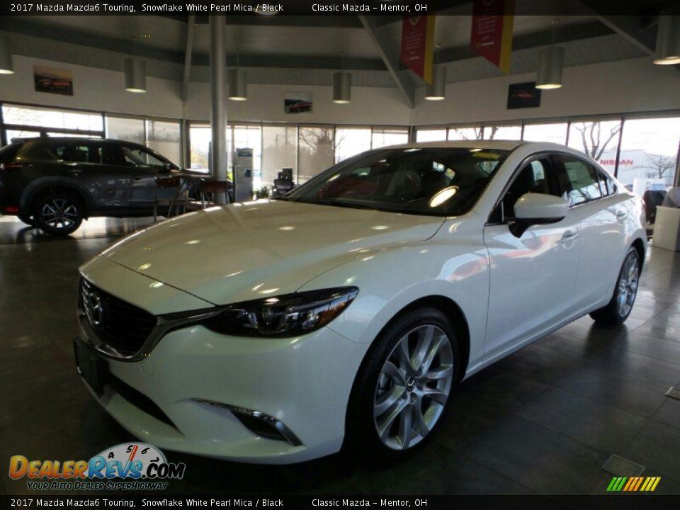 2017 Mazda Mazda6 Touring Snowflake White Pearl Mica / Black Photo #1
