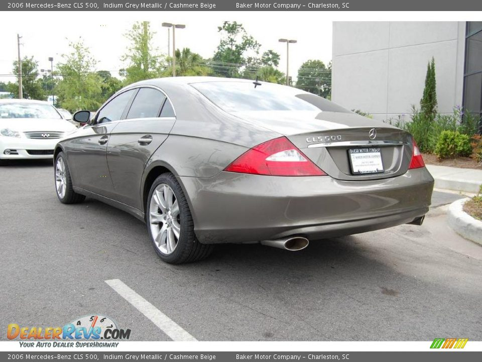 2006 Mercedes Benz Cls 500 Indium Grey Metallic Cashmere