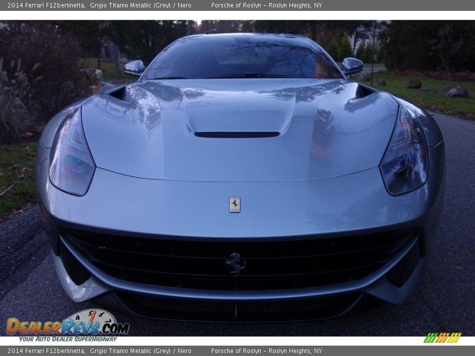 2014 Ferrari F12berlinetta Grigio Titanio Metallic (Grey) / Nero Photo #2