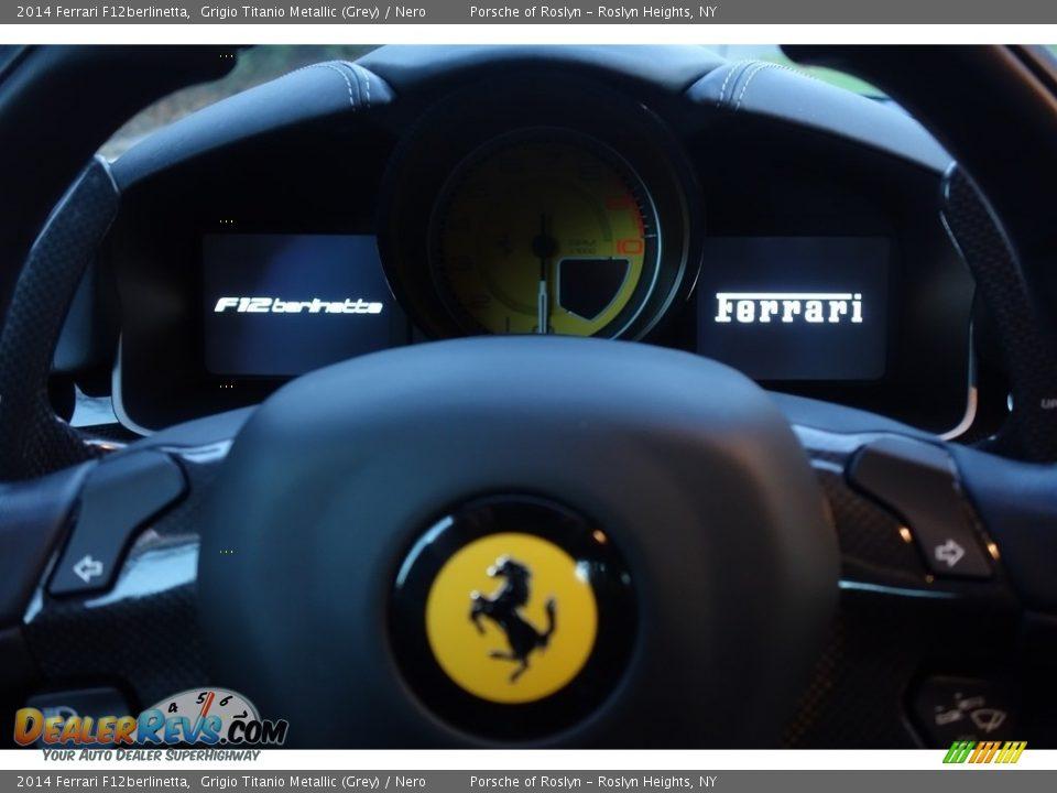 2014 Ferrari F12berlinetta Grigio Titanio Metallic (Grey) / Nero Photo #26