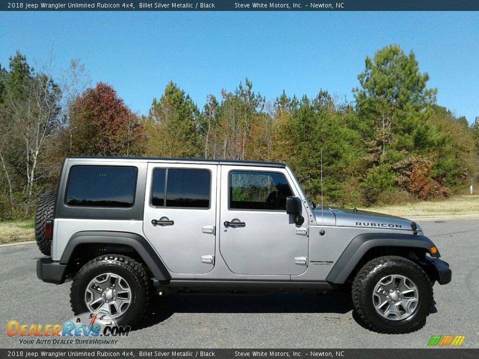 Billet Silver Metallic 2018 Jeep Wrangler Unlimited Rubicon 4x4 Photo #5