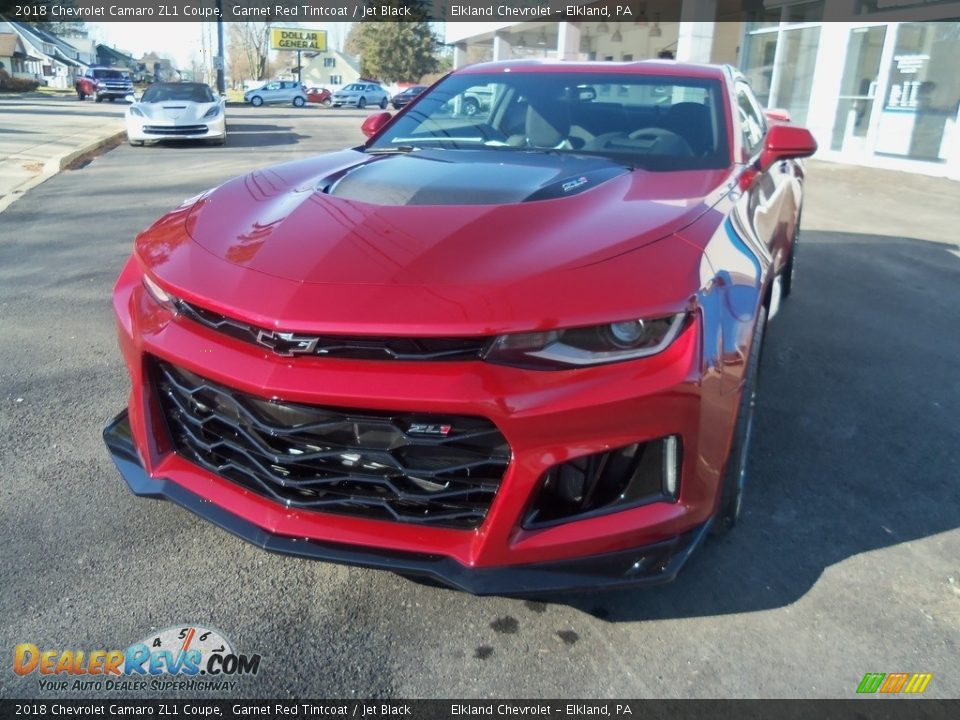 2018 Chevrolet Camaro ZL1 Coupe Garnet Red Tintcoat / Jet Black Photo #1