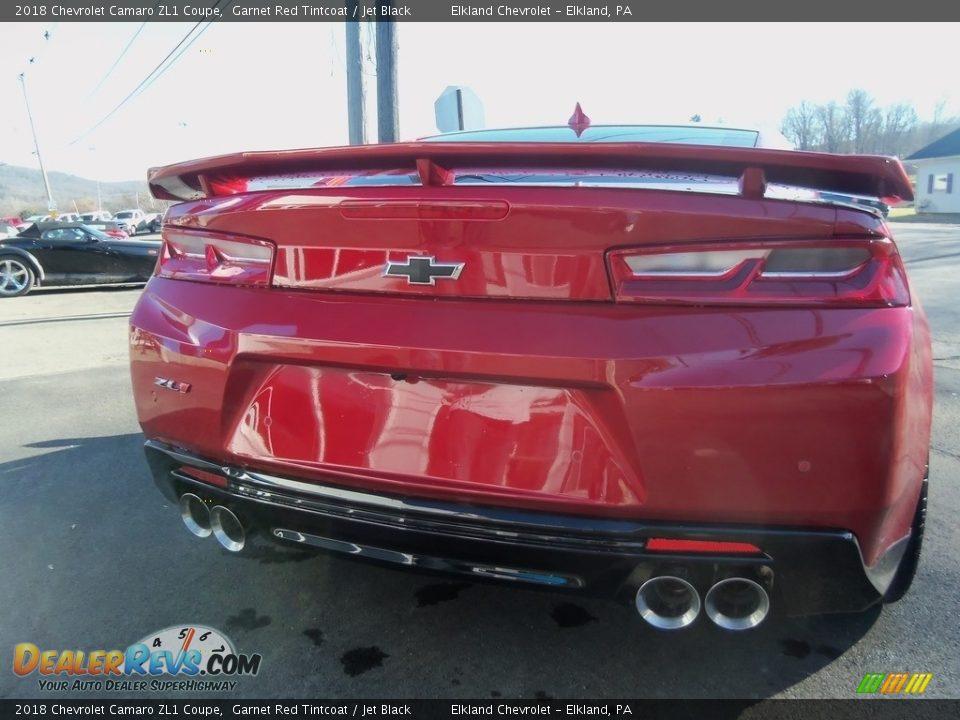 2018 Chevrolet Camaro ZL1 Coupe Garnet Red Tintcoat / Jet Black Photo #8