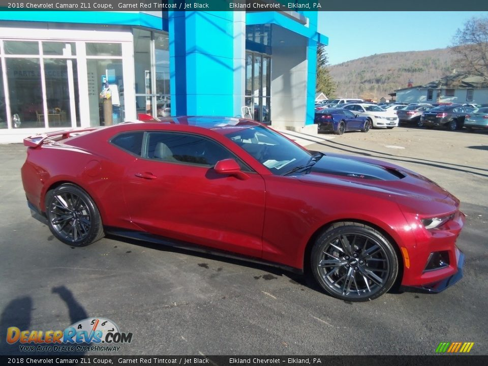 2018 Chevrolet Camaro ZL1 Coupe Garnet Red Tintcoat / Jet Black Photo #11