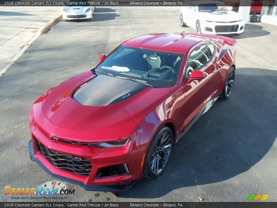 2018 Chevrolet Camaro ZL1 Coupe Garnet Red Tintcoat / Jet Black Photo #18