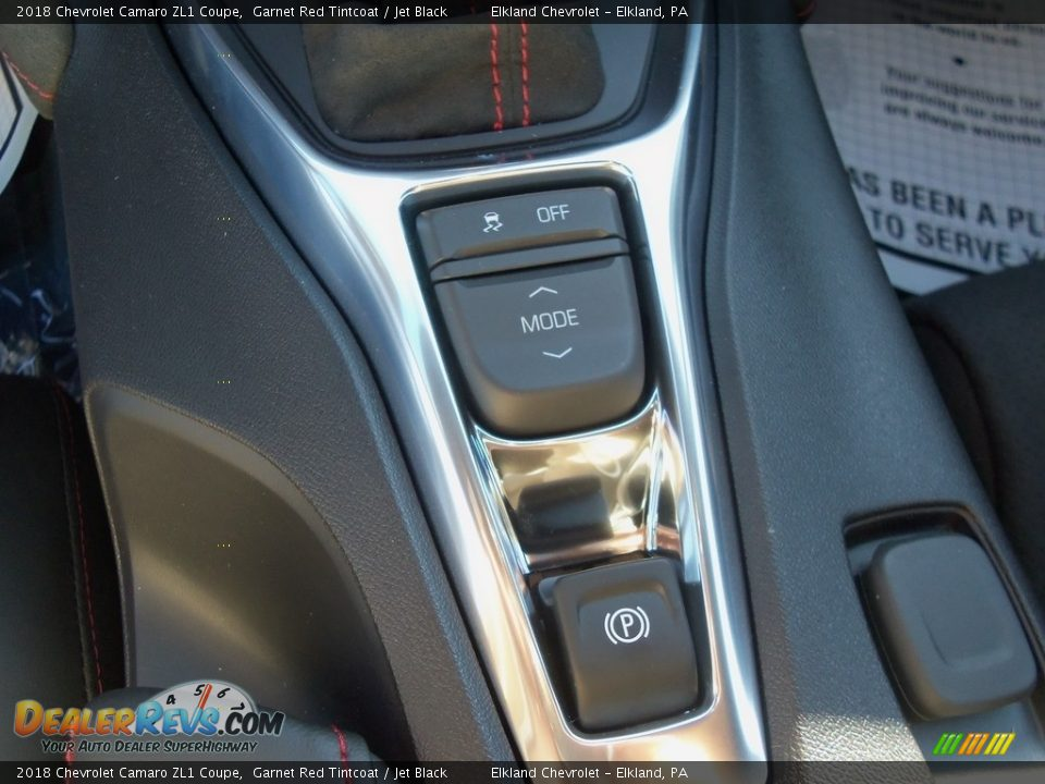 2018 Chevrolet Camaro ZL1 Coupe Garnet Red Tintcoat / Jet Black Photo #25