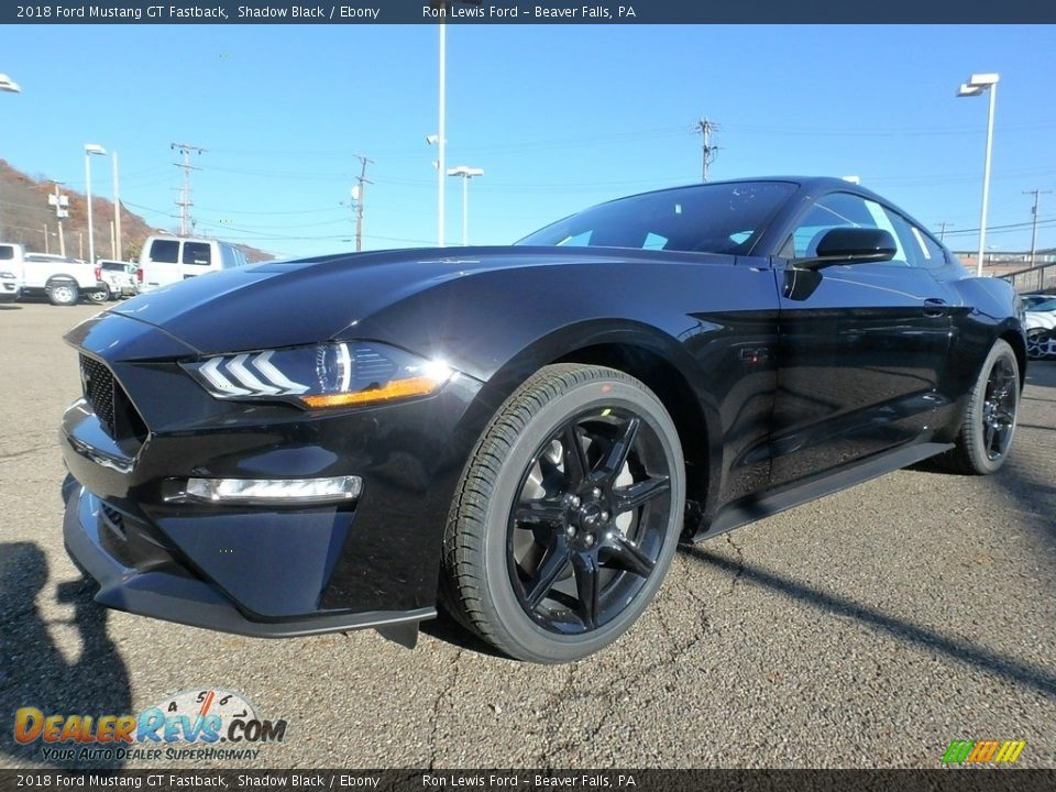 2018 Ford Mustang GT Fastback Shadow Black / Ebony Photo #6