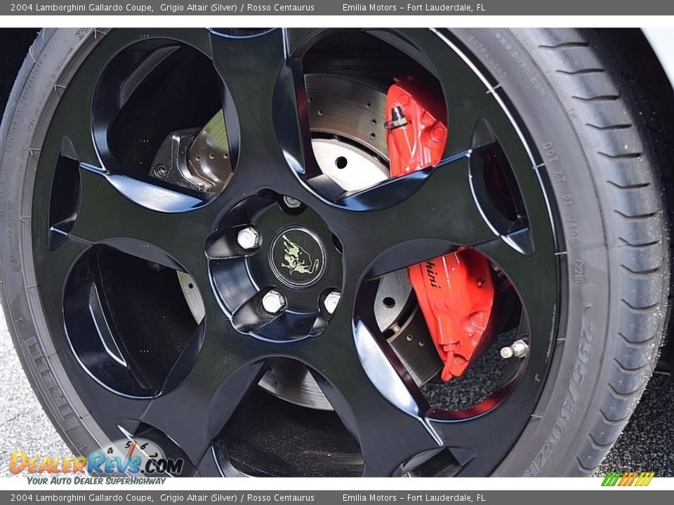 2004 Lamborghini Gallardo Coupe Wheel Photo #22