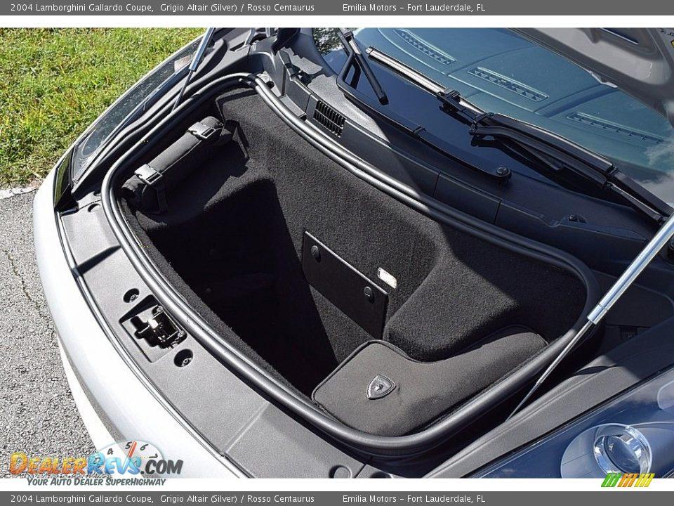 2004 Lamborghini Gallardo Coupe Trunk Photo #24