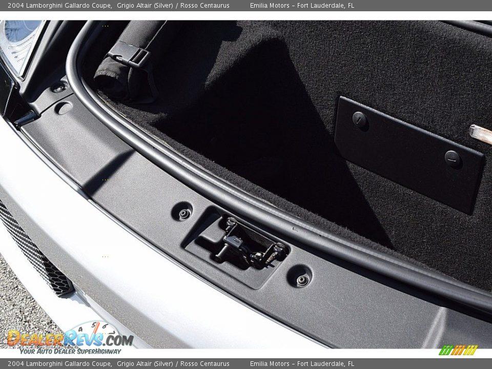 2004 Lamborghini Gallardo Coupe Trunk Photo #25