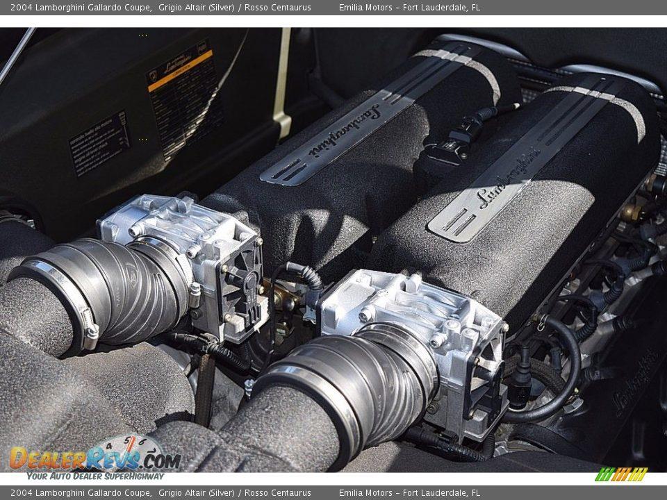 2004 Lamborghini Gallardo Coupe 5.0 Liter DOHC 40-Valve VVT V10 Engine Photo #30