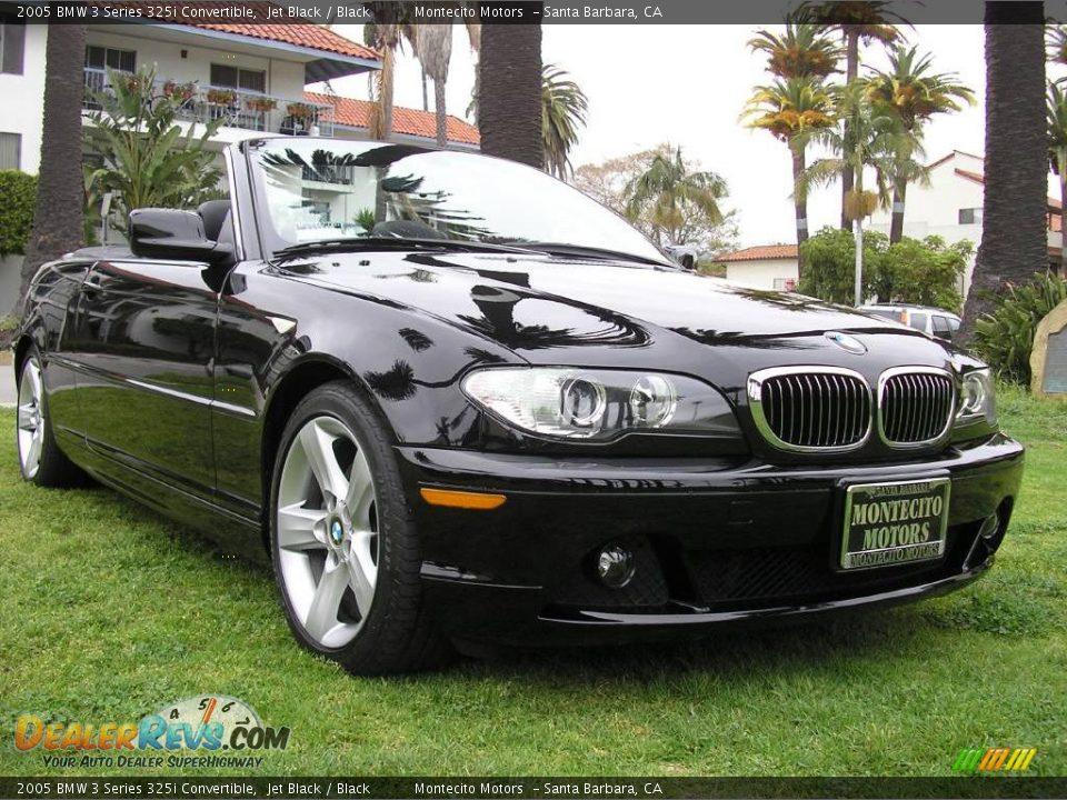 2005 bmw 3 series 325i convertible jet black black photo 9. Black Bedroom Furniture Sets. Home Design Ideas