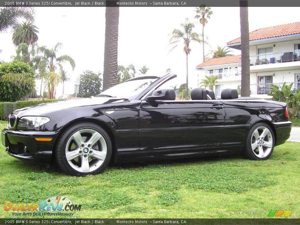 2005 bmw 3 series 325i convertible jet black black photo 18. Black Bedroom Furniture Sets. Home Design Ideas