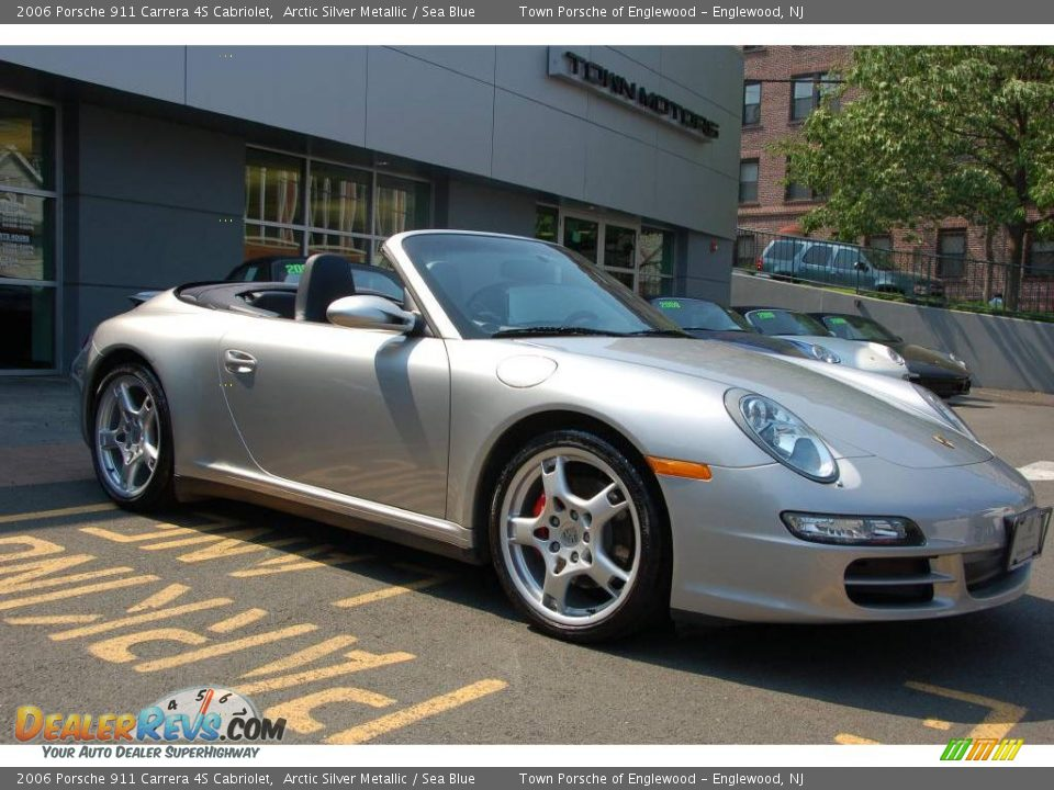 2006 porsche 911 carrera 4s cabriolet arctic silver. Black Bedroom Furniture Sets. Home Design Ideas