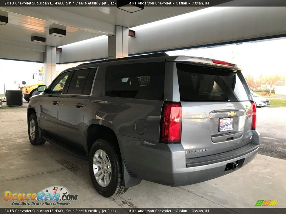 2018 Chevrolet Suburban LS 4WD Satin Steel Metallic / Jet Black Photo #7