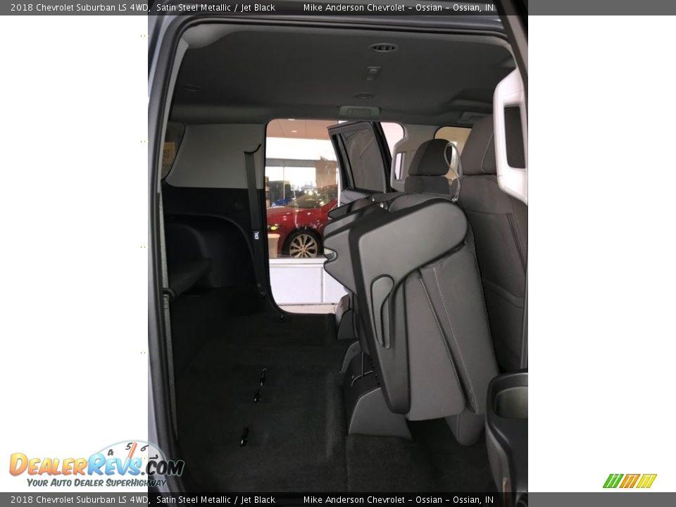 2018 Chevrolet Suburban LS 4WD Satin Steel Metallic / Jet Black Photo #16