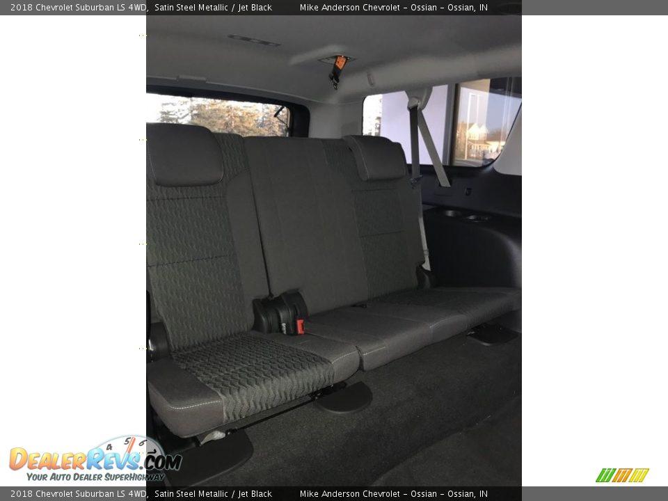 2018 Chevrolet Suburban LS 4WD Satin Steel Metallic / Jet Black Photo #17